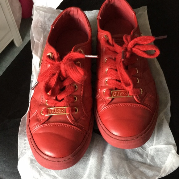 Guess Shoes | Red | Poshmark